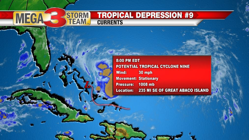 Current Info on Potential Tropical Cyclone Nine
