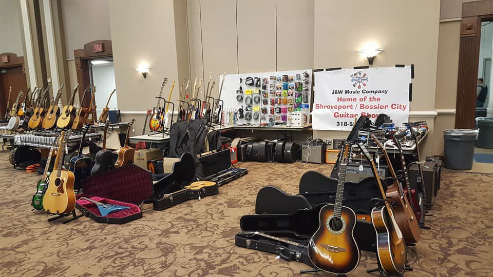 2nd Annual Shreveport/Bossier City Vintage Guitar, Musical Gear Show