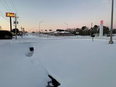 marshall snow