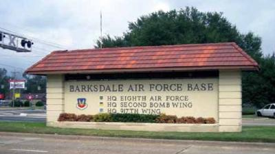 Barksdale Air Force Base sign
