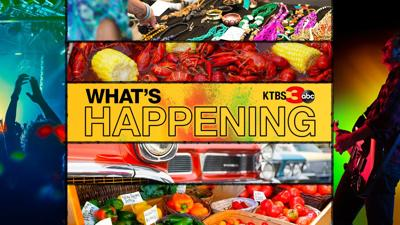 What's Happening graphic