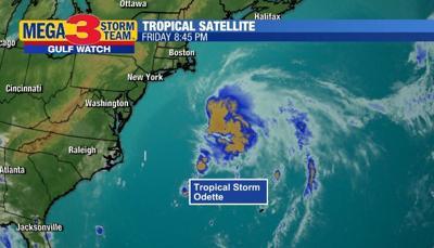 Satellite Image of Tropical Storm Odette