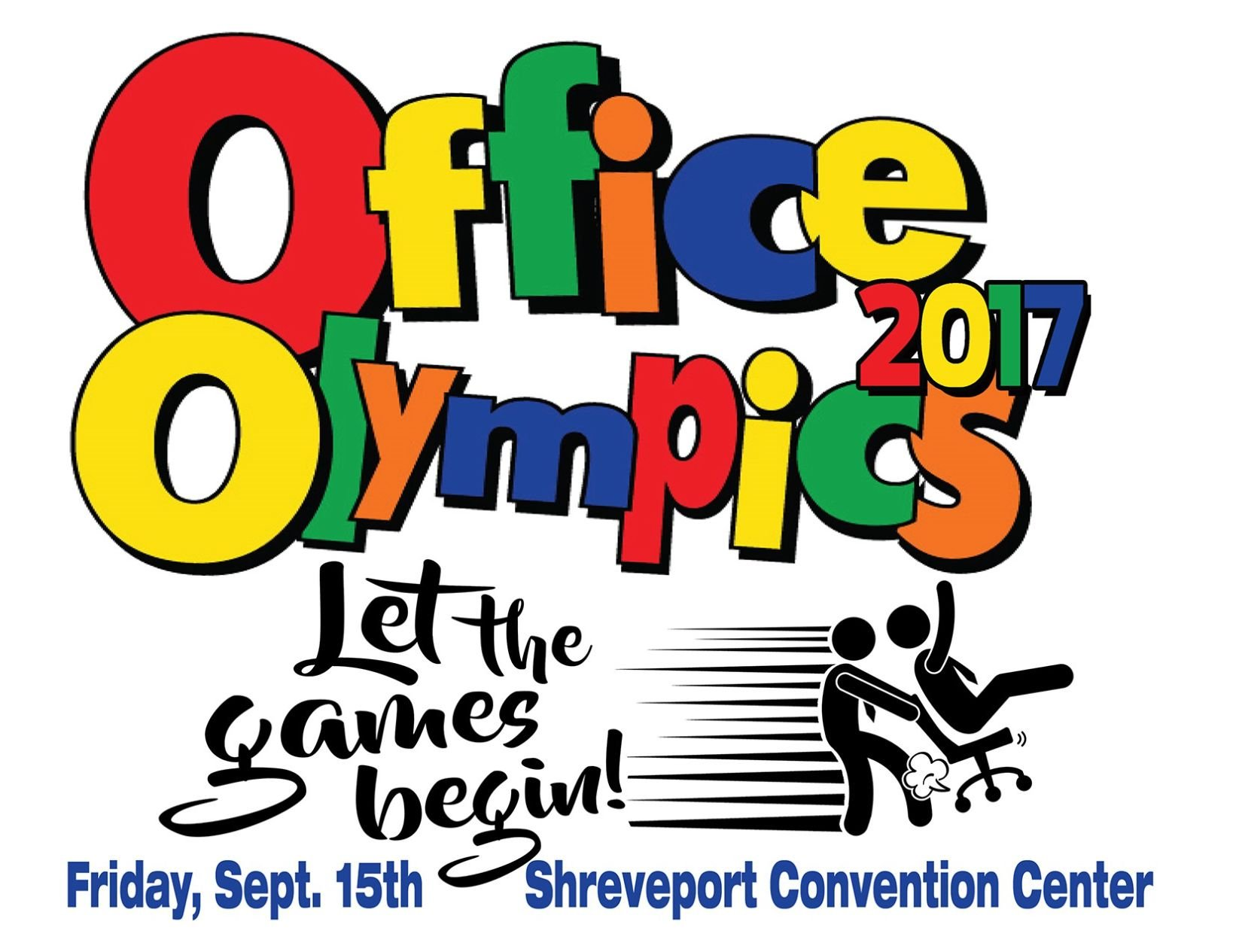 office olympics to turn shreveport convention center into playground rh ktbs com Office Clip Art Black and White Office Olympics Medals