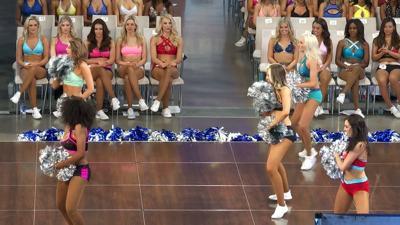Dallas Cowboys Cheerleaders tryouts 2019