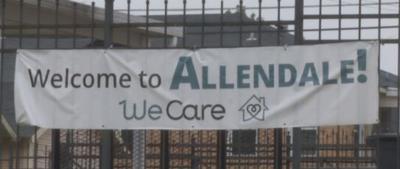 Allendale Friendship House banner