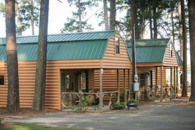 Sabine Parish cabins