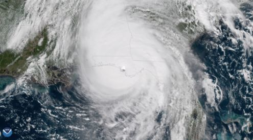 Hurricane Michael (image from NOAA)