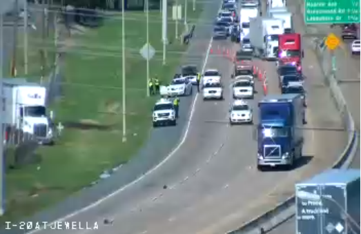 Update: All lanes reopened on I-20 W  | News | ktbs com