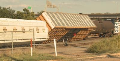 Downtown Shreveport train derailment