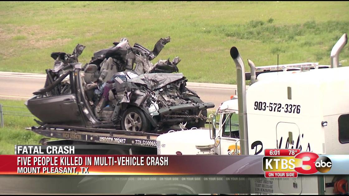 Officials Confirm 5 Fatalities Reported In I 30 Crash Ktbs Com