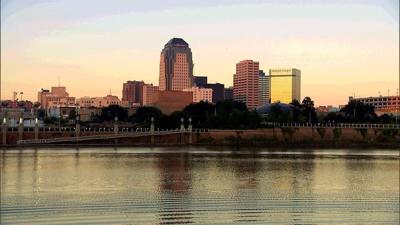 Shreveport skyline