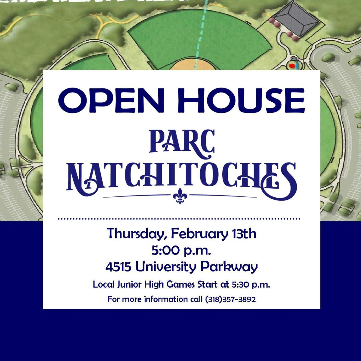 Parc Natchitoches open house