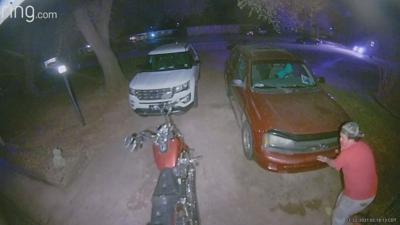 Chevy Trailblazer theft suspects