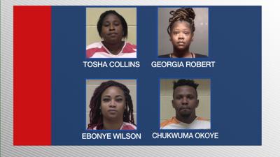 BCPD money laundering mugshots