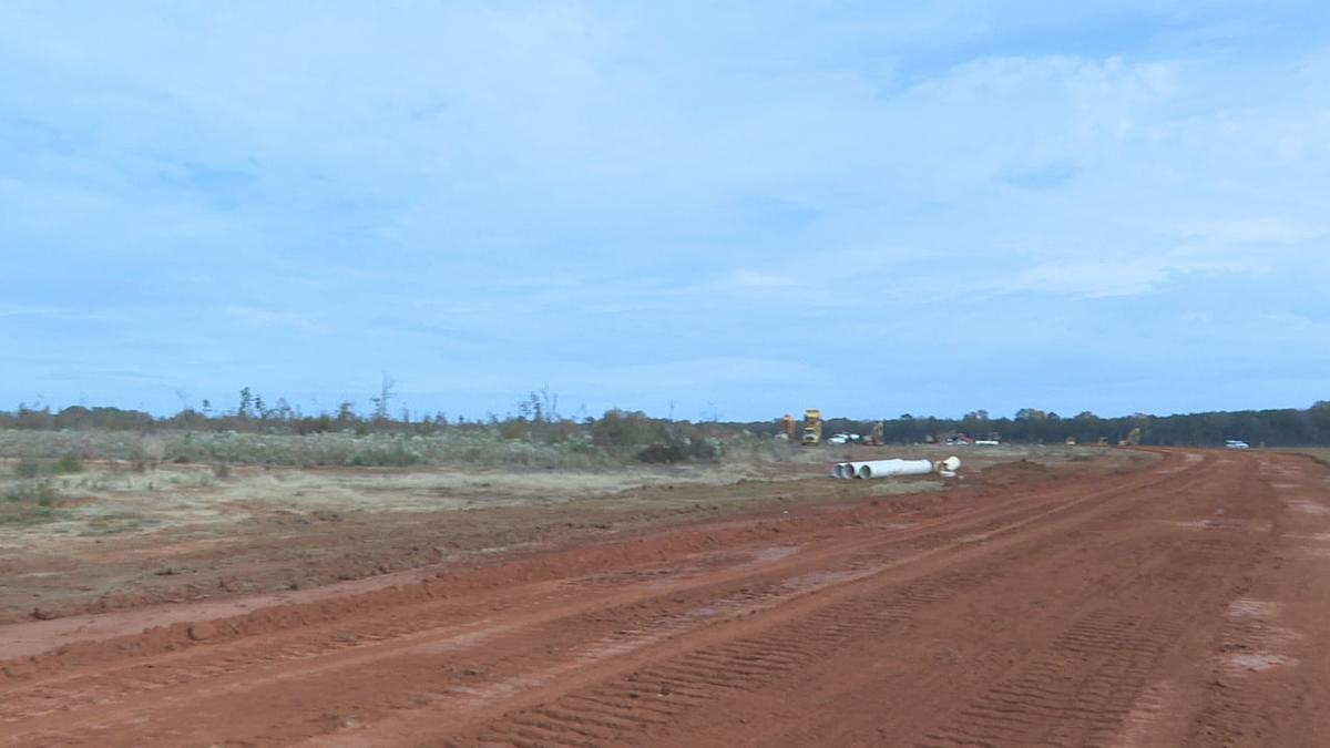 Construction of Legacy Point subdivision in Haughton.jpg