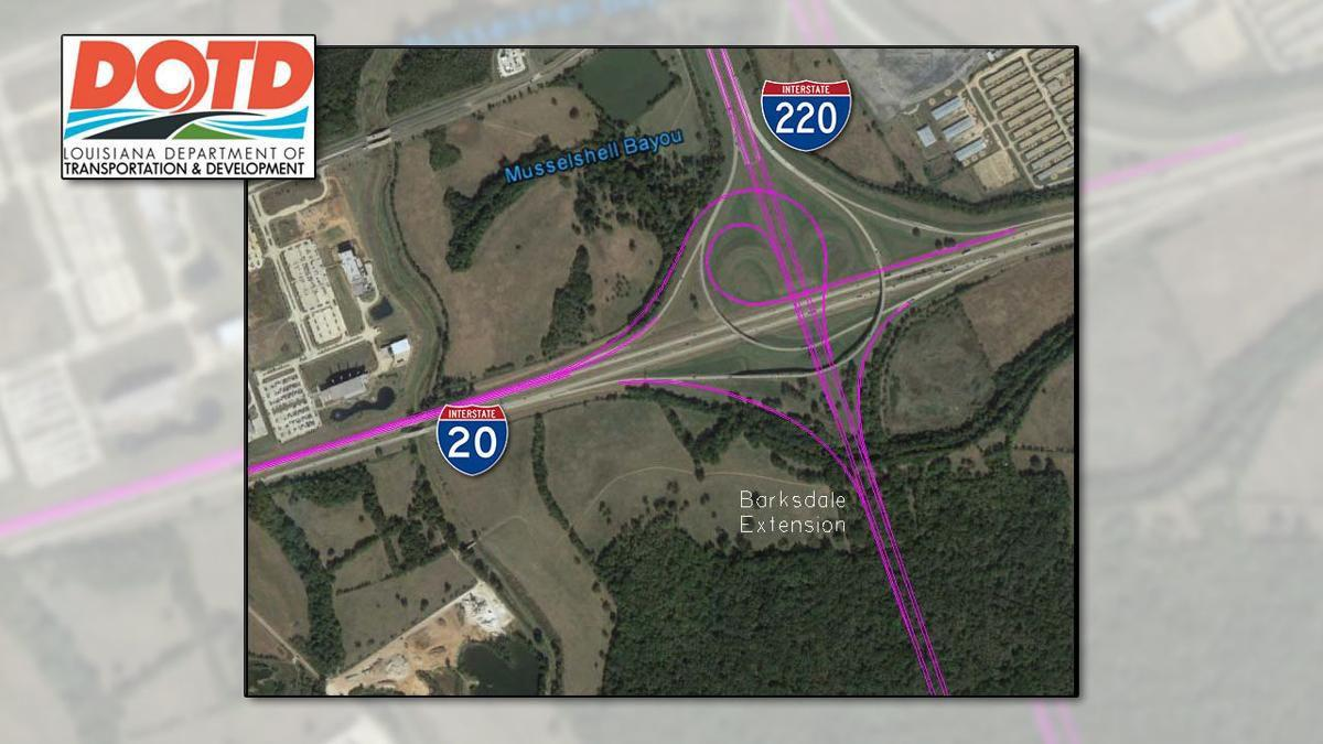 I 20 Louisiana Map.2 Proposals Submitted For New I 20 I 220 Interchange At Bafb News