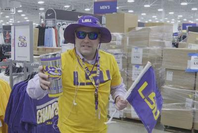 LSU Merchandise on sale now!