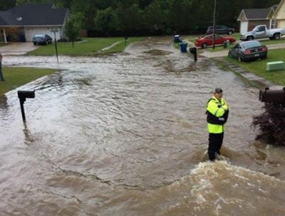 Bossier flooding