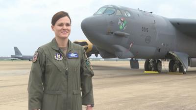 FEMALE B-52 PILOT