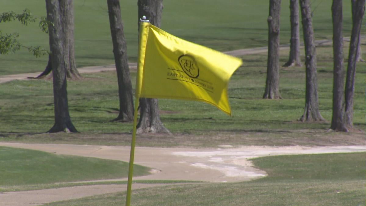 Pin Flag at East Ridge