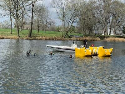 NPSO - Kara Vaughn floats car down river