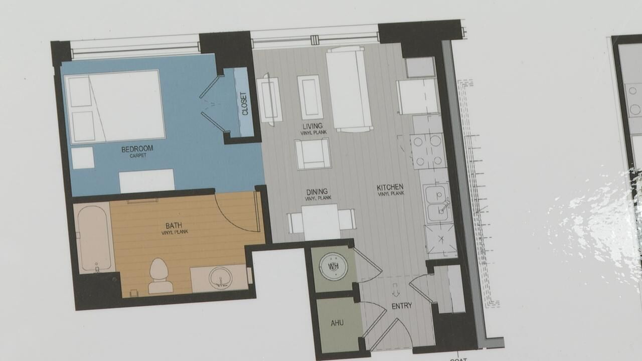 Lofts at the Grim expected to be complete this Fall