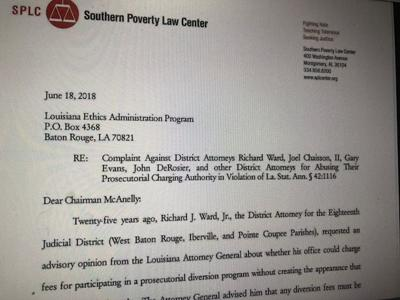 SPLC alleges DeSoto, other D A's improperly padding budgets