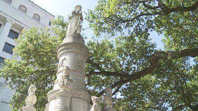 caddo confederate monument