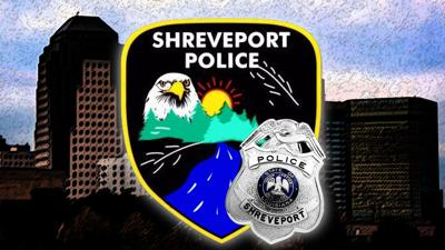 Shreveport police patch and badge