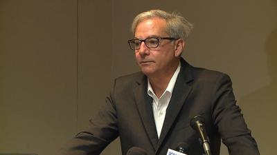 Paul Elio visits Shreveport to give an update on his company