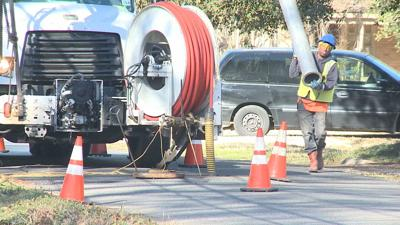 Shreveport sewer work
