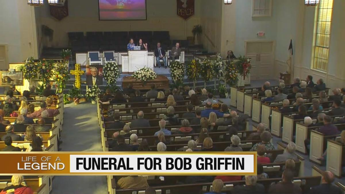 Funeral for Bob Griffin