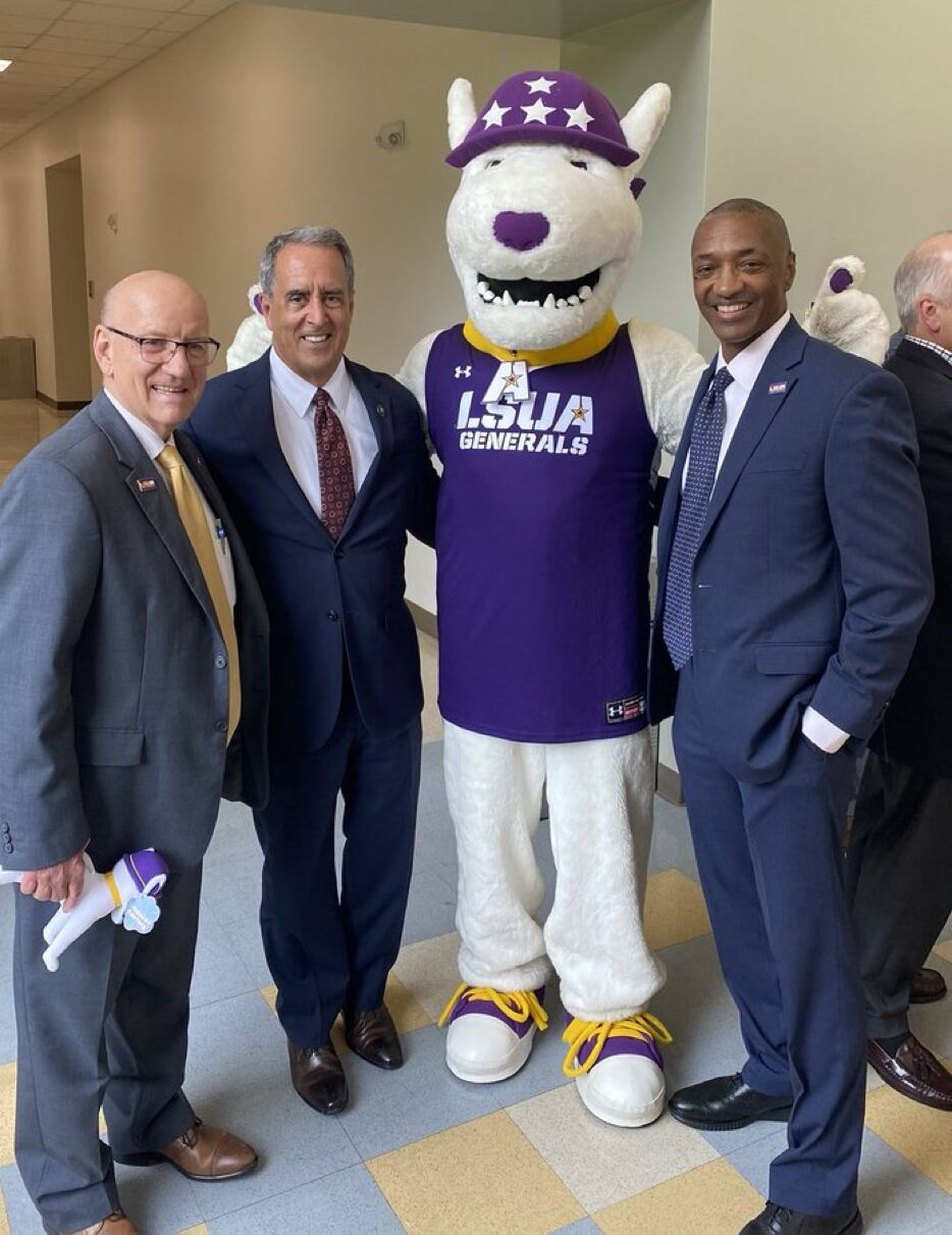 LSU President at LSUA