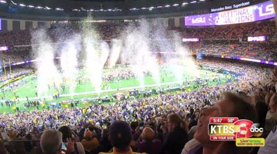 LSU Tigers are the National Champions