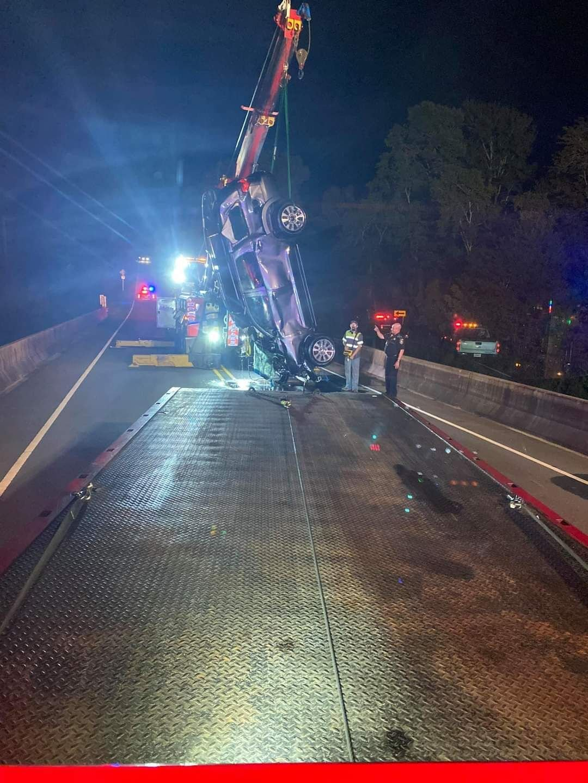 Lyn Lawrence crashes DA's vehicle 2