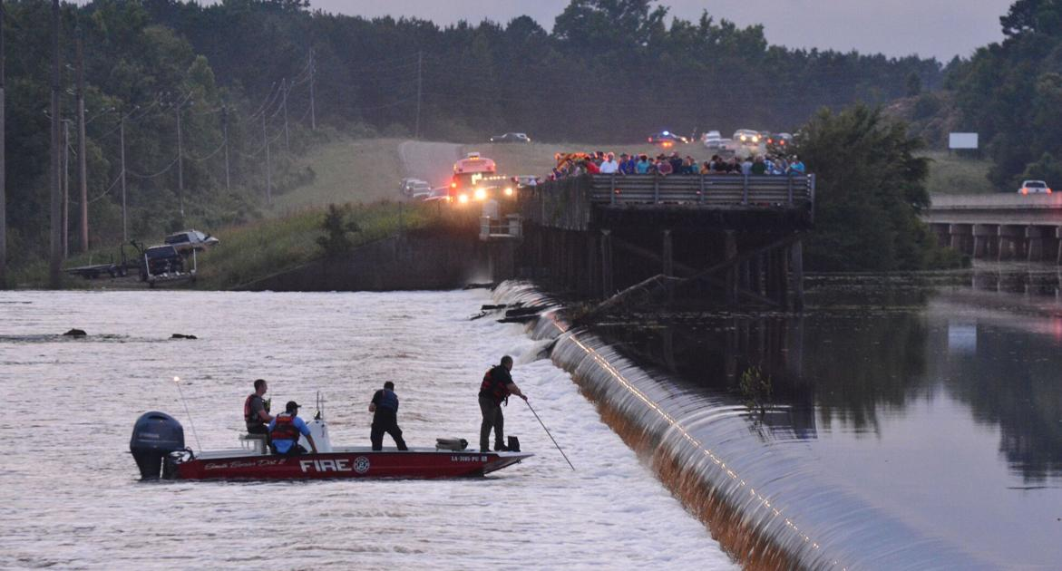 Authorities identify drowning victim pulled from Lake Bistineau spillway
