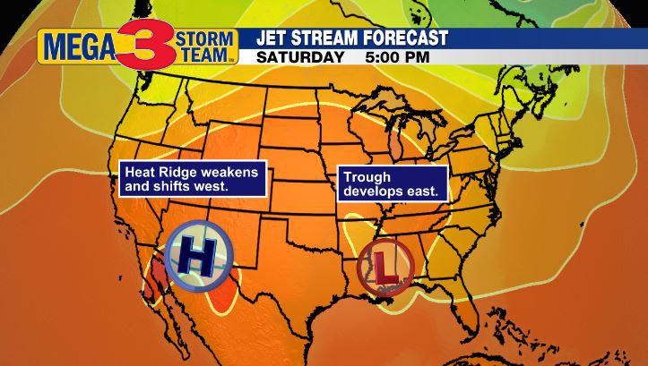 Jet Stream Forecast for July 4th