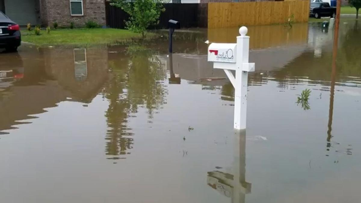 Fox Chase subdivision flooding