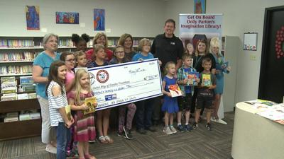 Trice students raise money for the Dolly Parton Imagination