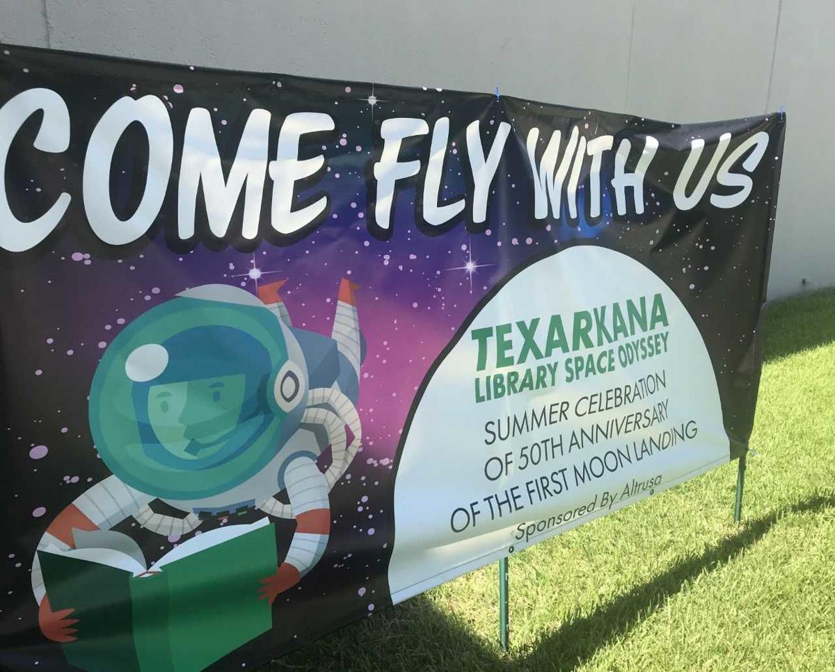 Altrusa Texarkana, library partner to commemorate moon landing