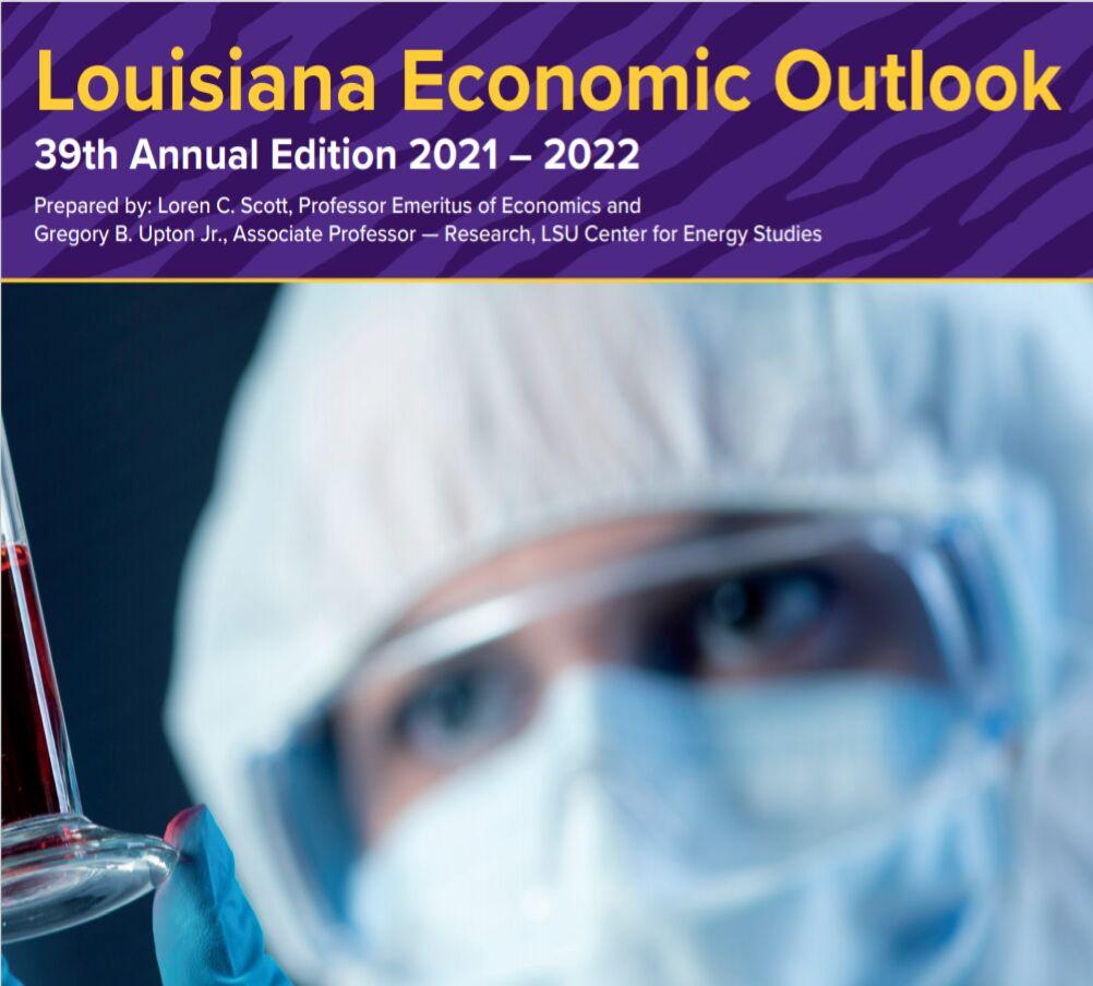 La. Economic Outlook cover photo