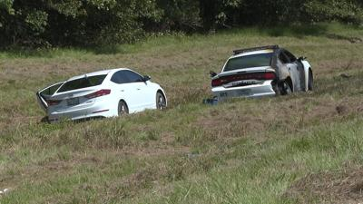 Two in custody after police chase in Hooks, Texas