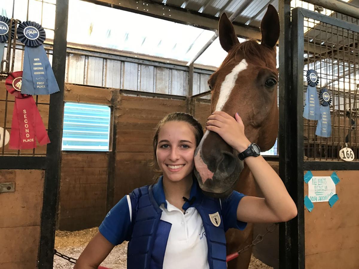 Shreveport Teen Part Of Elite Equestrian Team Community