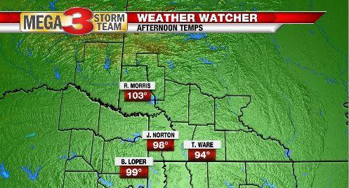 North ArkLaTex Weather Watcher Highs