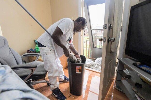 Ida cleanup