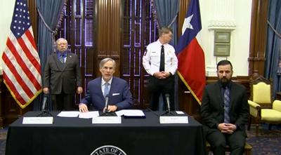 Gov. Abbott briefing