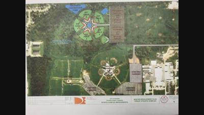 Latest rendering of new Tinsley Park to be constructed