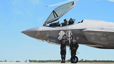 F-35 will be showcasing at Barksdale AFB airshow