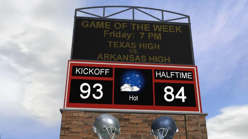 Texas High vs. Arkansas High Forecast
