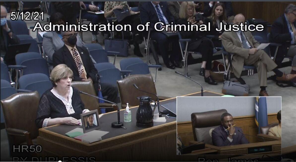 Robin Simmons testifies on study resolution